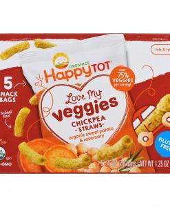 Love My Veggies Chickpea Straws - Sweet Potato & Rosemary