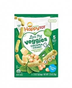Love My Veggies Chickpea Straws - Cheddar&Spinach