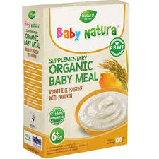 Organic Brown Rice Porridge-Pumpkin