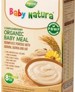 Organic Brown Rice Porridge-Banana