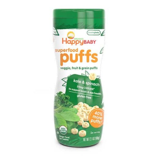 Superfood Puffs-Kale & Spinach